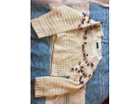 Never been worn oversized Zara knit jumper
