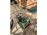 Morrison 400 petrol lawnmower in full working order