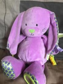 Purple sensory rabbit