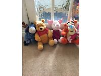Winnie the poo characters for sale