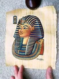 Egyptian papyrus art pictures