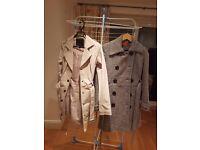 Assorted Wool & Rain Coats for £25-£30