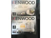 New un used Kenwood Mini chopper
