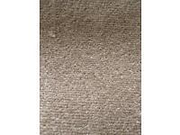 Large beige carpet