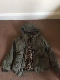 Girls coat size 7/8