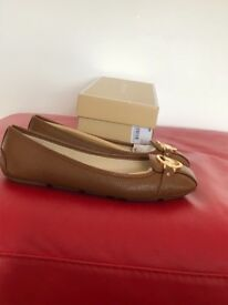 Real Micheal Kors flat shoes worn once come in original packaging
