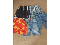 NINE beautiful pairs of boys shorts (5 PAIRS by NEXT)