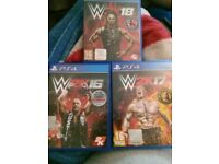 WWE GAMES PS4