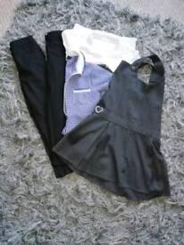 Girls school uniform age 6 7 8