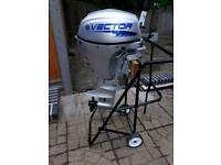 Vector 8hp 4 stroke outboard engine