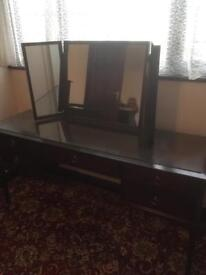 Stag Mahogany Dressing Table