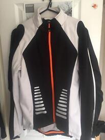 Men's medium cycling jersey top jacket mint condition