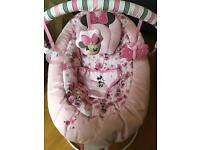 Minnie Mouse baby bouncer 0 months +