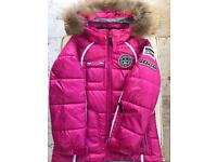 ICEPEAK GIRLS WINTER COAT AGE 7-8 (brand new)