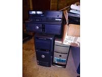untested desktops (£10 each)