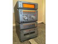Sony 5 disc hifi with kevlar speakers 250 watts