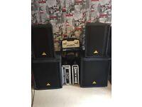 Full Dj set up ready to go