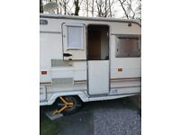 Avondale 2/3 berth lightweight caravan with awning