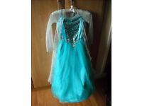 Genuine Disney Store Elsa (Frozen) dress age 7-8 years