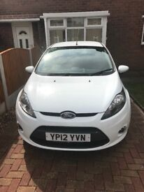 Ford Fiesta edge 1.2 white