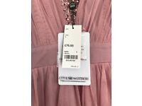 4 dusky pink bridesmaid dresses