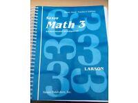 Saxon math 3 teachers manual