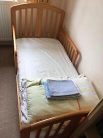Child's bed.