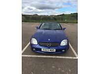 2001 MERCEDES 200 SLK AUTO/TIPTRONIC PETROL ROADSTER LOW MILES FOR YEAR,SOLID CAR IN GOOD CONDITION