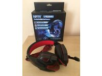 SY830MV LED Gaming Headset - Brand New - For PC - Laptop - PS4 - Xbox One - Nice Christmas Present