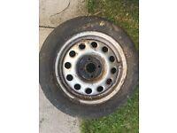 4 x VW Golf MK2 steel wheels for sale.