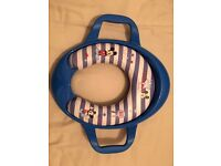 Potty Training Padded Toilet Seat With Handles and Mickey Mouse from Disney