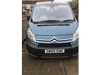 Citroen dispatch 7 seater 2010 with wheel chair access