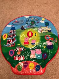 Peppa Pig interactive play mat