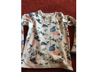 Girls age 8-9 fat face sweater