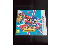 Mario and Sonic London 2012 Olympics Nintendo 3DS Game