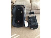 Silver cross ISO fix car seat and mirror