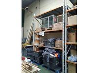 Apex Metal Racking Free Standing Fixture Orange Grey 2 Tone