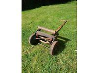 Vintage hand lawnmower - Qualcast