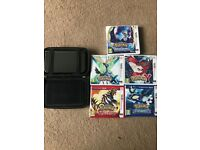 New Nintendo 3DS XL & 5 Pokemon Games (ORASXY)