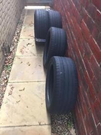 225/45/17W Bridgestone used tyres