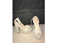 Ladies uk size 5 River Island heels