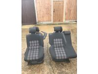 Vw polo 6r Gti front and rear seats
