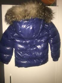 Baby boy moncler coat age 18-24 months