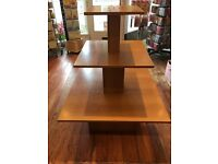 Display unit in really good condition. Really sturdy and shows off multiple items for sale.