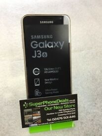 SAMSUNG GALAXY J3 2016 GOLD UNLOCKED BRAND NEW WITH RECEIPT