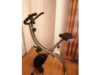 Rodger black exercise bike