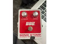 BBE Sonic Stomp Sonic Maximizer Used
