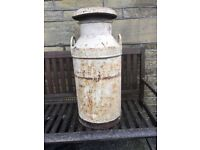 Newhall Dairies Milk Churn