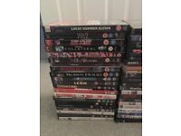 Joblot of 84 DVDs including Fight Club, Taken, Pulp Fiction and many more