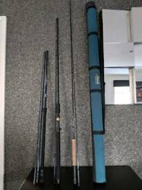 Fishing rods mixed with case